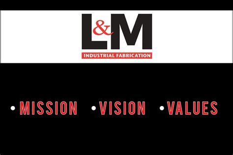 design vision elegant playful graphic design for l m industrial