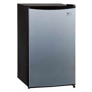 refrigerators home depot spt 3 3 cu ft mini refrigerator in stainless steel