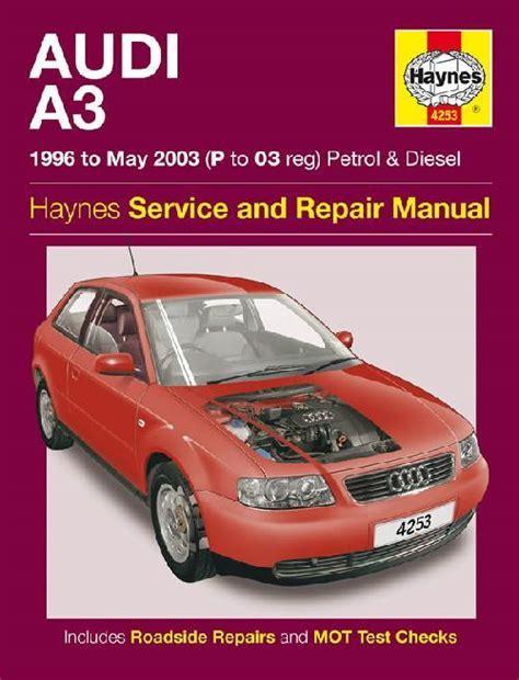 free car repair manuals 1994 audi 90 electronic throttle control audi a3 petrol diesel 1996 2003 haynes owners service repair manual 1785210157