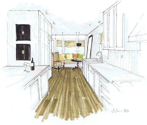 Sketches Renderings And Models Are Primarily by Sketch Up And Marker Render Architecture Models