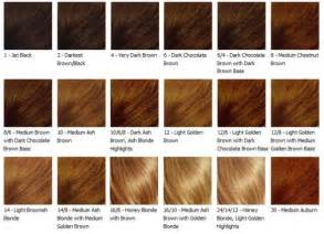 black hair color auburn hair color chart