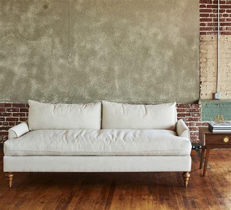 saxon fabric sofas saxon apartment size sofa from kyle schuneman apt2b