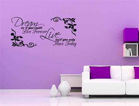 inspirational wall stickers vinyl wall sticker decal quote as if inspirational decor quote j209 ebay