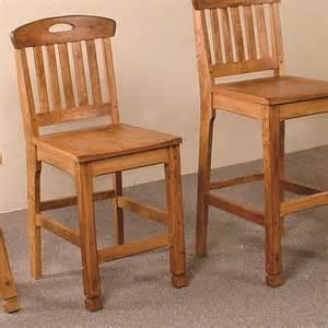 sedona slatback barstool set of 2 rustic bar stools