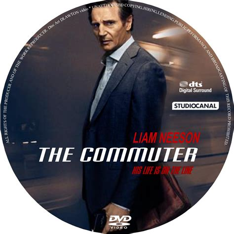 Dvd The Commuter 2018 the commuter 2018 r1 custom dvd cover label dvdcover