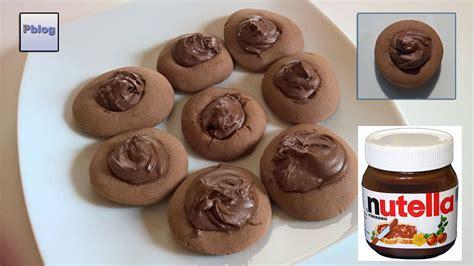 nutellotti bimby tm5 biscotti al cioccolato semplici e