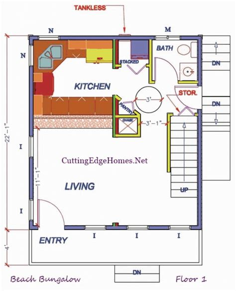beach bungalow floor plans modular homes beach bungalow