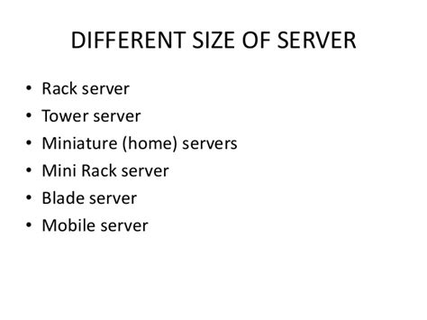 Difference Between Rack And Tower Server by Basic Server Ppt Thdc