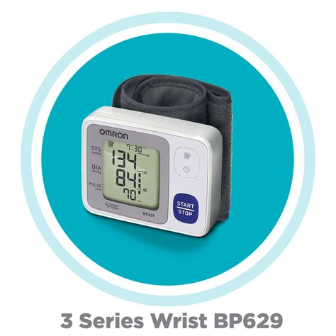 Most Accurate Home Blood Pressure Monitor by Omron 3 Series Wrist Blood Pressure Monitor
