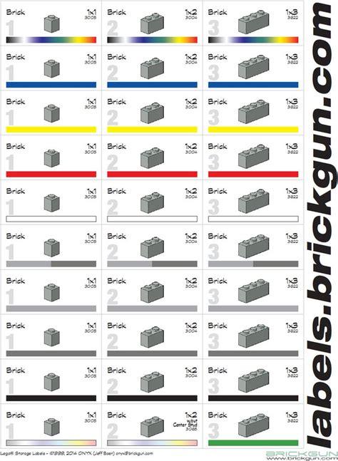 printable lego label 10 best images about brickgun lego 173 174 storage labels on