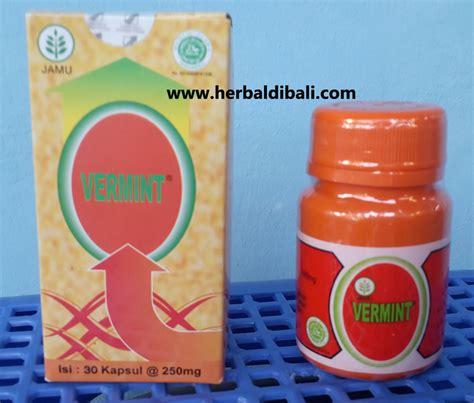 Obat Cacing Kapsul jual vermint kapsul ekstrak cacing tanah di denpasar bali