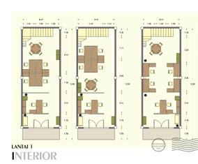layout kantor dan dasar filling contoh denah rumah layout annahape studio desain rumah