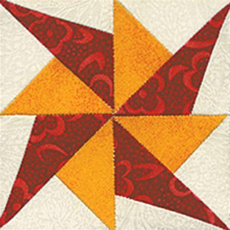 Block Pattern Quilt by Prickly Pinwheel Quilt Block Pattern