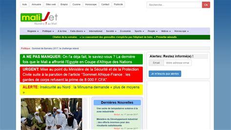 info mali aujourd hui malijet malijet journal d actualit 233 malienne en