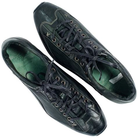 Bradleys Boots Anubis Leather Up 39 43 bradley landon green dip dyed leather sole sneakers paolo shoes