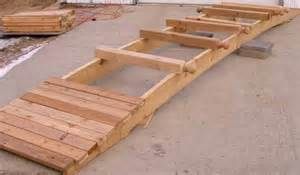 how to build a wooden bridge how to build a wooden arch bridge woodworking projects