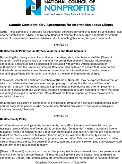 client confidentiality agreement template client confidentiality agreement templates free