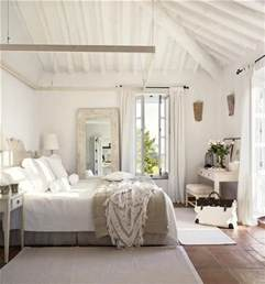Distressed Wood Bedroom Wall Perfect Beach House Guest Bedroom Love The Big Mirror