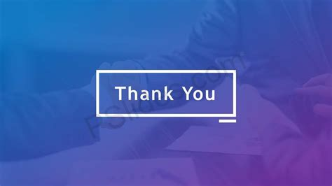 Thank You Powerpoint Slides Pslides Thank You Powerpoint Template