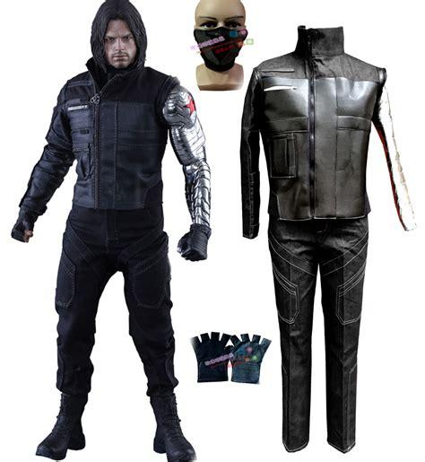 Costume Marvel Captain F766 marvel s captain america civil war winter soldier buchanan bucky barnes costume