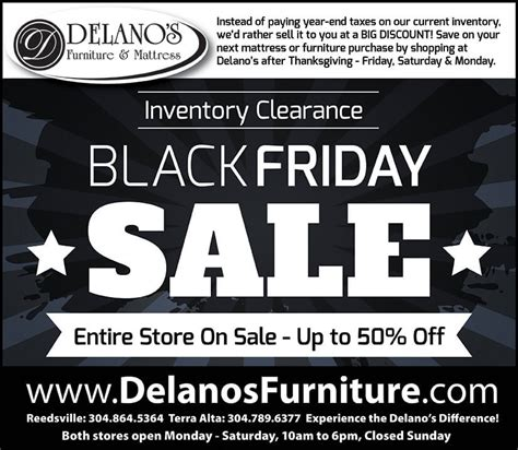 after thanksgiving furniture sales inventory clearance sale fri sat sun after