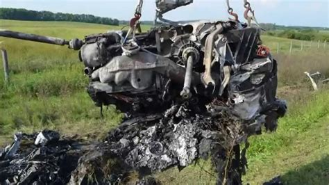 300 Km H Lamborghini Crash by Lamborghini Horror Crash Mit 300 Km H Ungarische Polizei
