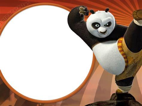 imagenes kung fu panda para descargar marco de foto kung fu panda 6 plantillas infantiles