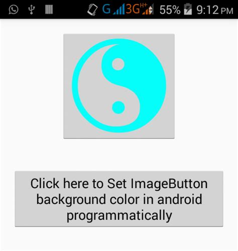 android set layout width wrap content programmatically set imagebutton background color in android