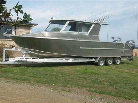 aluminium 9 7 metre plate boat no outboards cygnet - 7 Metre Boats For Sale
