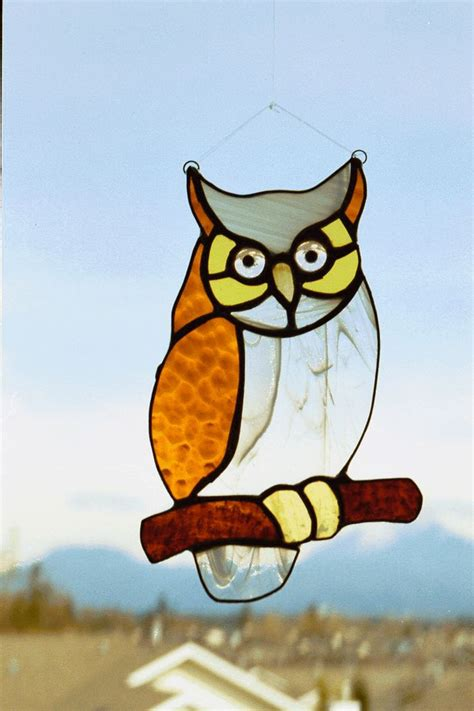 stained glass animal ls 181 best images about stain glass birds owls on
