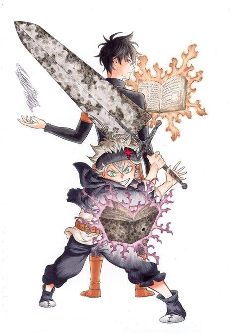 Stiker Anime Black Clover crunchyroll studio pierrot produces quot black clover quot tv anime