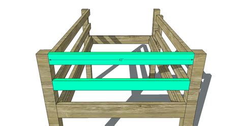 Low Bunk Bed Plans Free Woodworking Plans To Build A Low Loft Bunk Bed