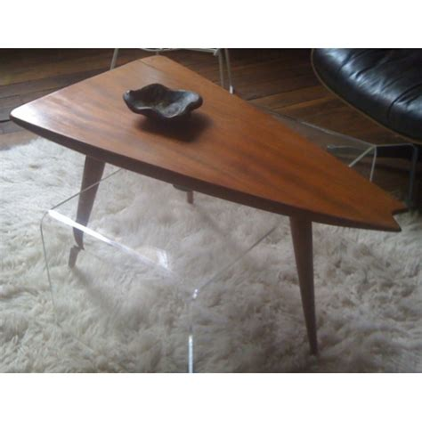 table de chevet design 854 table tripode forme libre design vintage cote argus