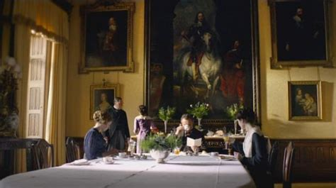 Downton Abbey Dining Room | highclere castle in masterpiece s quot downton abbey quot series