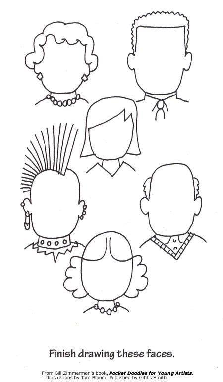 blank faces coloring page 20 dabbles babbles pin af lea sand p 229 billedkunst pinterest billedkunst