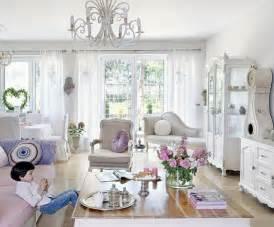 chic home interiors wohnzimmereinrichtung im shabby chic stil 55 beispiele