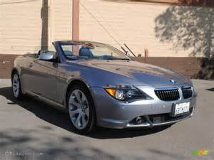 2007 stratus grey metallic bmw 6 series 650i convertible