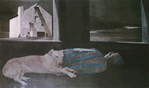 Andrew Wyeth Sleeper by Andrew Wyeth Landscape At Rosselli Gallery