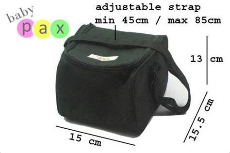 Rbs Cooler Bag Gel Hitam kinar baby shop coolerbag asi babypax