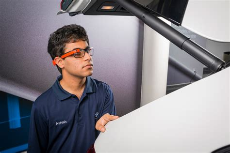designboom tim spears bmw group test google glass to ensure quality assurance in