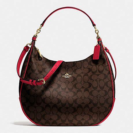 Coach Harley Hobo True harley hobo in signature f38300 imitation gold brow true coach handbags all