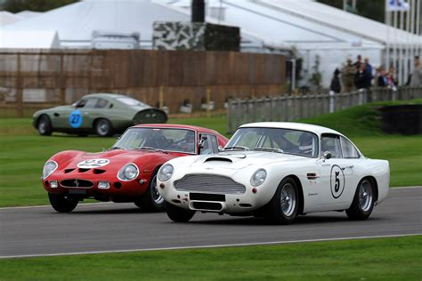 Aston Martin Owners by Aston Martin Owners Club Race Event At Silverstone With
