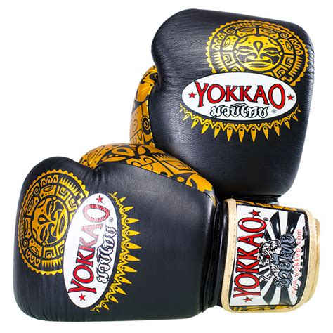 Muay Thai Glove Sarung Tinju Boxing Glove Yokkao Ronon 10oz sarung tinju yokkao original muaythai boxing gloves