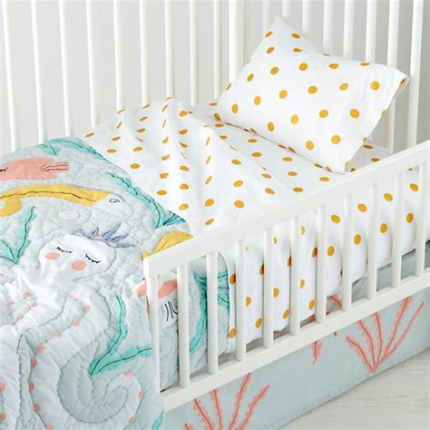toddler bedding marine themed toddler bedding the land of nod