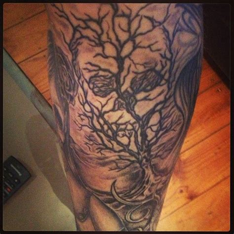 skull tree tattoo 25 best ideas about dead tree on tree