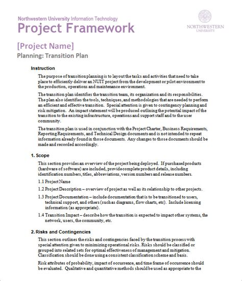 executive transition plan template plan template 47 free word excel pdf psd format