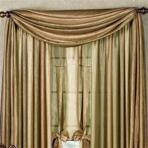 curtain scarves ombre semi sheer scarf valance and window treatments