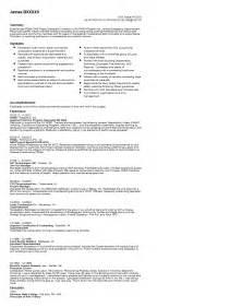 exles of resumes volunteer emt resume sle