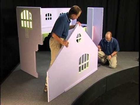 tradewins doll house bed tradewins dollhouse assembly youtube