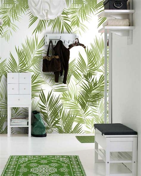 Dining Room Storage Ideas by Mural Pintado Viste La Casa De Flores Se Lleva El Papel